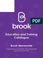 Brook Merseyside Education and Training Catalogue