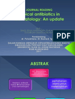 journal reading, clinical antibiotic in dermatology