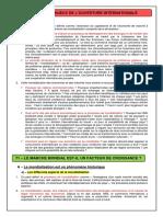 Commerce International Et Croissance (Cours) (2011-2012)