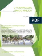 Usos y Significados Del Espacio Público