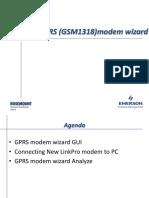 New GPRS (GSM 1318) Modem Wizard
