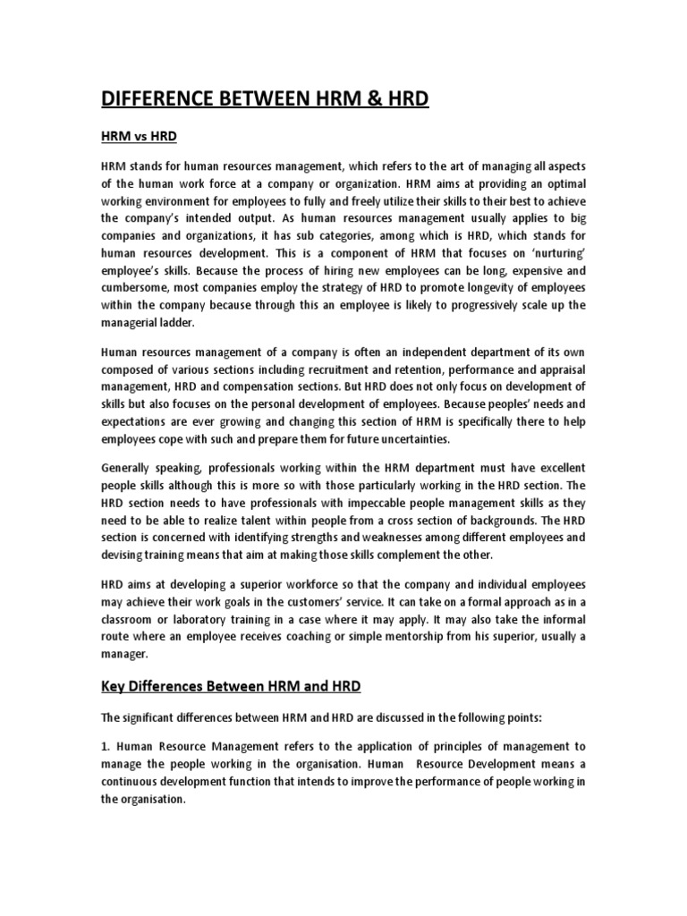hrm assign pdf | Human Resource Management | Human Resources