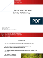 Bustillos - AR, VR, & Health