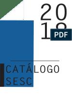 Catálogo experimental Sesc