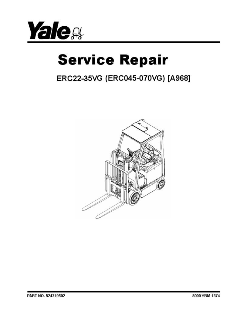 YALE (A968) ERC050VG FORKLIFT Service Repair Manual.pdf