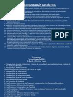 Criterios de Normalidad y Anormalidad. Psicopatologìa. Generalidades