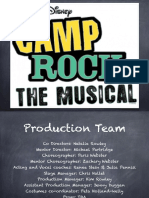 Camp Rock Info Pack