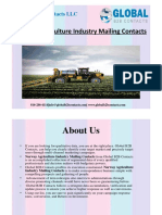 Norway Agriculture Industry Mailing Contacts