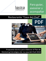 Trabajo de Marketing Caratula y Hoja Membretada
