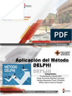 Aplicación Del Método DELPHI