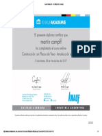 Knauf Akademie - Certificado de Cursada2