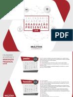 CalendáRio Acadêmico Multivix 2018 2