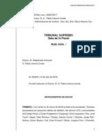 Resolució Llarena Suspensio Diputats Rebelio