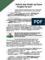 24. Gaano Kabuti Ang Sinabi Ng Diyos Tungkol Sa Iyo?