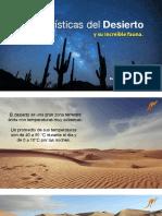 Características del Desierto y su Increíble Fauna