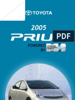 2005 Prius Pocket Guide