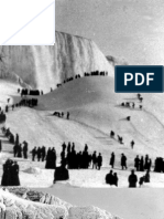 NIAGARA FALLS COMPLETELY FROZEN IN 1911