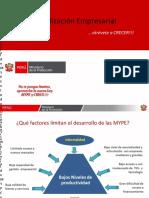 Formalización Empresarial