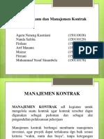 Aspek Hukum Dan Manajemen Kontrak