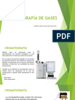 Cromatografía de Gases