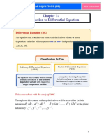 Introduction to De
