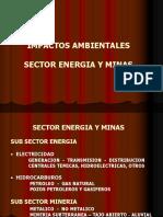 Clase 2. Impactos Ambientales - Sector Energia y Minas
