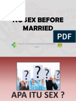 No Sex Before Married