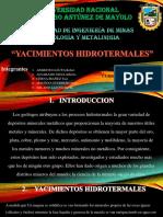 Diapositivas de Yac. Hidrotermal