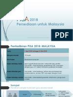 PISA 2018 Preparation for Malaysia