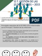 Principio 7 ISO 9001