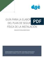 Guía Para La Elaboración Del Plan de Seguridad Física de La Instalación