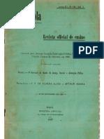 Revista a Escola - Belém- PA-  1902 n.30