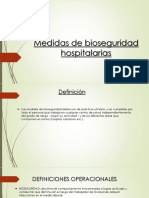 Medidas de Bioseguridad Hospitalarias