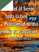 Cantad al Señor toda la tierra,.ppt