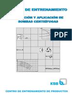 MANUAL DE ENTRENMIENTO APLICACIÓN Y SWLECCIÓN DE BOMBAS CENTRÍFUGAS.pdf