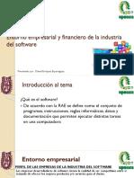 Entorno empresarial y financiero de la industria del software