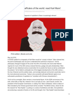 Rulers of the World. Read Karl Marx! - Second Time