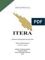 12115044 Tugas 3 Mitigasi Bencana Kelas a ITERA