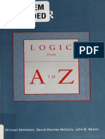 Logic from A to Z