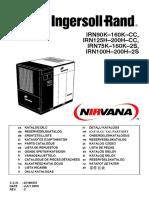 Ingersoll Rand Irn90k 160k Cc, Irn125h 200h Cc, Irn75k 160k 2s, Irn100h 200h 2s Parts Catalogue (July 2005)
