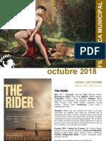 FILMOTECA de Coslada / Programación Octubre 2018