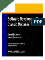 ISW2018_ErroresClasicos02_ClassicMistakes_SteveMcConnellAnalysis.pdf