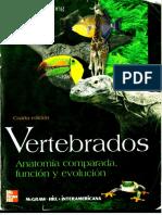 267220663 Vertebrados Anatomia Comparada Funcion y Evolucion
