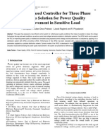 Adaptive Based Controller for Three Phase  UPQC as Solution for Power Quality Improvement in Sensitive Load