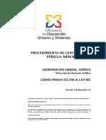 Manual de Procedimiento de Contratacion Publica Menor Cuantia