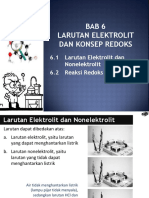 Bab 6 Larutan Elektrolit Dan Konsep Redoks