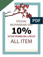 Spesial Muharram Day