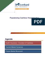 Popularizing Cashless Hospitalization-Sanjay Datta
