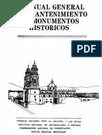 MANUAL General de Mantenimiento de Monumentos Historicos0001