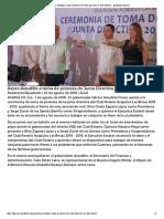 03-08-2018 Asiste Astudillo a Toma de Protesta de Junta Directiva de Club Rotario.